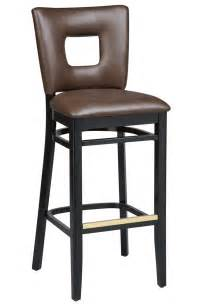 bar stools bar height regal seating series 2426 wooden commercial counter height bar stool upholstered cut out back