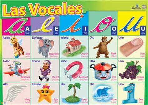 imagenes en ingles con las vocales vocales