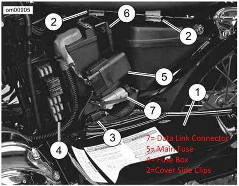 harley dyna fuse box wiring diagrams schematics