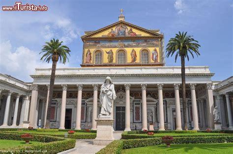 san paolo roma la basilica di san paolo fuori le mura uno foto roma