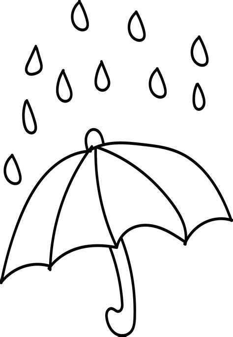rain coloring page rain coloring page the my weather