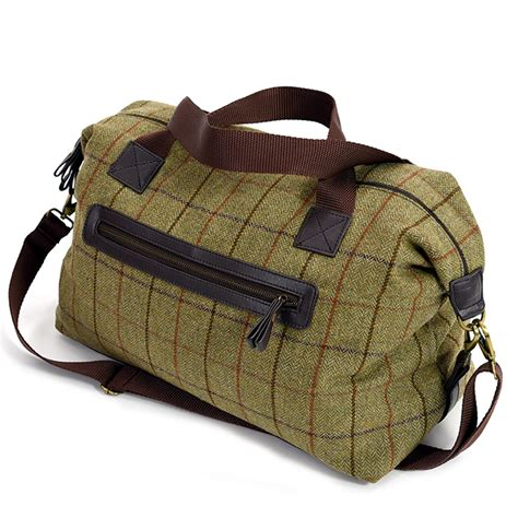 personalized wool tweed weekender bag gifts gifts
