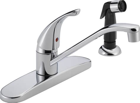 single handle kitchen faucets peerless faucets single handle centerset kitchen faucet with side spray ebay