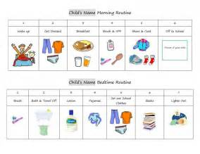 Baby Routine Template by How The Contribute To Household Responsibilities