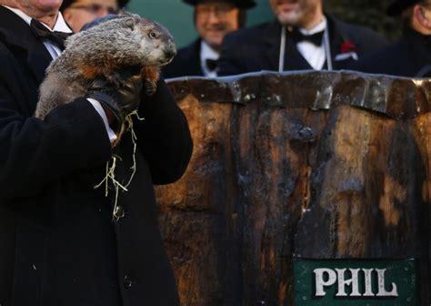 groundhog day en groundhog day 2013 punxsutawney phil sees no shadow