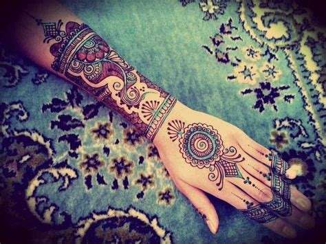 colorful henna 60 stunning henna tattoos and designs to