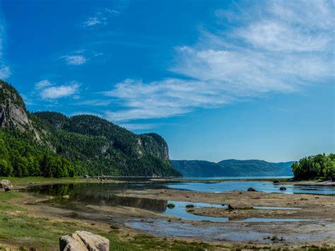 fjord du saguenay parc national du fjord du saguenay randonn 233 e qu 233 bec