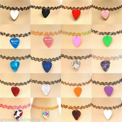 Exclusive Color Of Tatto Choker 17 best images about guitar picks on rockabilly symbols and black tattoos