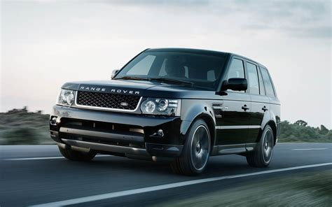 land rover sport road land rover range rover sport black edition land rover