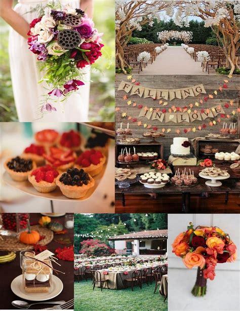 fall wedding ideas on a budget 25 extraordinary wedding ideas on a budget for fall navokal