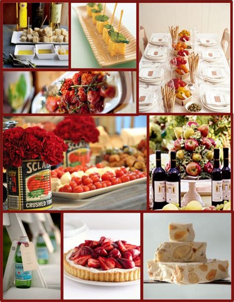 gallery for gt italian dinner party decorations ideas