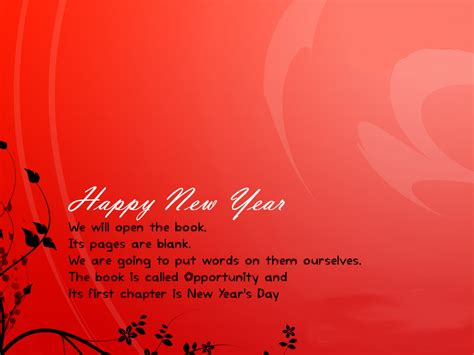 from these listed new year quote cards to wish happy new
