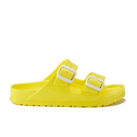 neon sandals birkenstock s arizona slim fit sandals