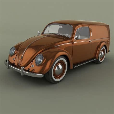volkswagen models van volkswagen beetle van 3d model max obj fbx cgtrader com
