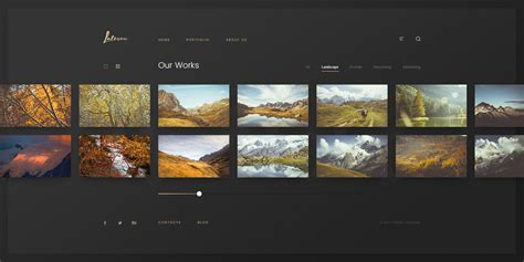 template gallery laterna creative photo gallery template by svetlov