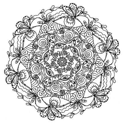 imagenes de mandalas florales flores para colorear f 225 ciles dificiles y hermosas
