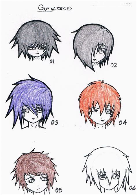 anime hairstyles for guys easy anime hairstyles for guys hairstyles ideas