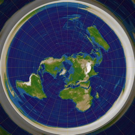 flat earth equidistant map projection file azimuthal equidistant n90 jpg wikimedia commons