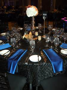 black blue and silver table settings black and blue table setting indelink com