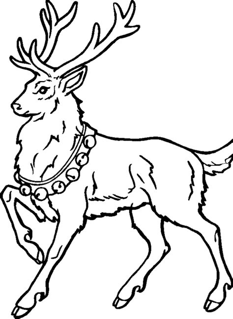 coloring pages of christmas reindeer reindeer coloring pages az coloring pages