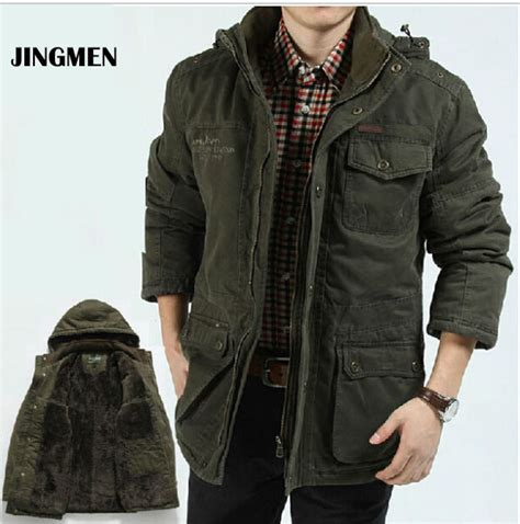 Jaket Pria Ukuran Big Size Jaket Denim Cowok Jumbo Besar new winter jaket brand warm jacket s coat autumn cotton parka outwear coat free shipping