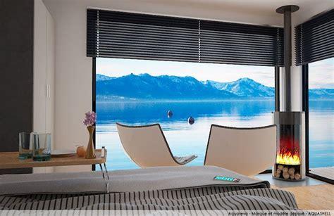chambre flottante aquareva la chambre sur l eau aquashell