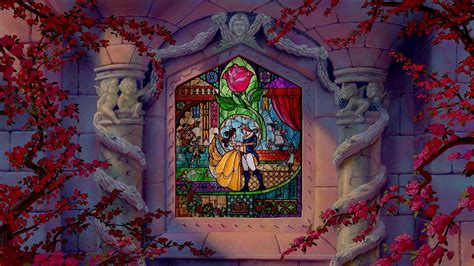 Poster Mural 4952 by And The Beast Wallpaper Disney Die Sch 246 Ne