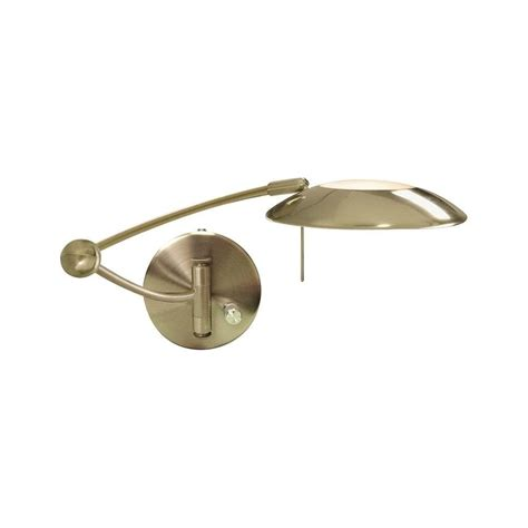 brass swing arm l tuscanor plain swing arm brass wall light