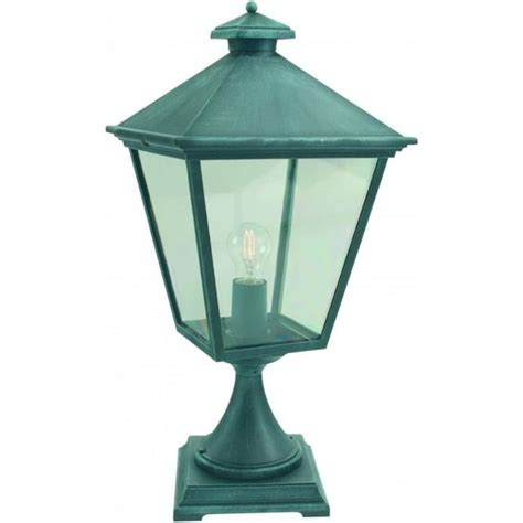 Types Of Outdoor Lights Elstead Lighting Turin Outdoor Post Light In Verdigris Finish Lighting Type From Castlegate