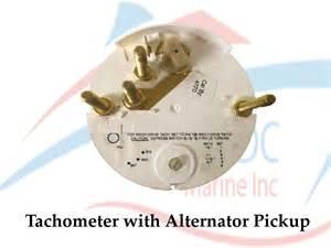 non programmable tachometer with digital hourmeter 4000 rpm alternator ac dc marine inc