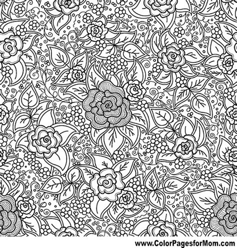 flower coloring pages advanced free coloring pages of advanced paisley