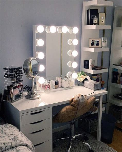 Ikea Table Ls Bedroom by 25 Best Ideas About Ikea Makeup Vanity On