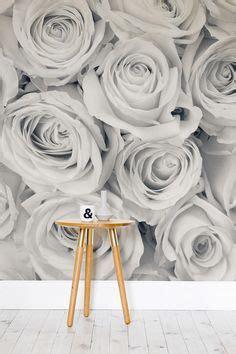 wallpaper grey roses 1000 images about flower wallpaper murals on pinterest