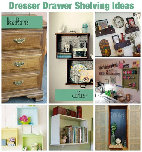 How To Turn A Drawer Into A Shelf by Upcycle Dresser Drawers As Hanging Shelves 10 Ideas