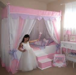 Princess Bed Canopy Glitz Glam Canopy Bed With Bedding Princess Bed