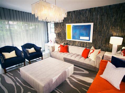 hgtv color splash living room david bromstad hgtv
