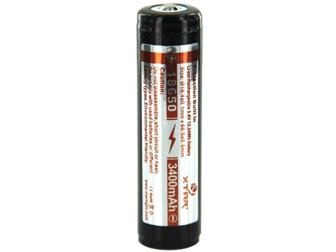 Panasonic Ncr18650b Li Ion Battery 3400mah 3 6v 30a With Flat Top xtar panasonic ncr 18650 3400mah 3 6v protected high drain 4 87a lithium ion li ion button top