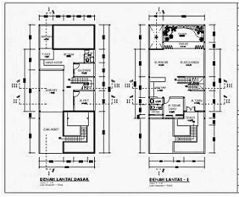 50 contoh gambar denah rumah minimalis terbaru 2017 rumah minimalis