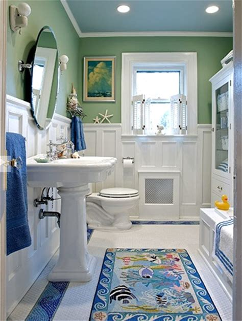 15 bathroom ideas coastal nautical decor