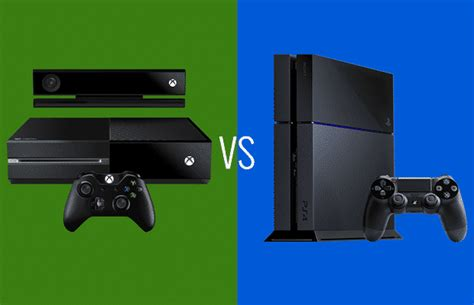 xbox one vs playstation 4 which is the better next console