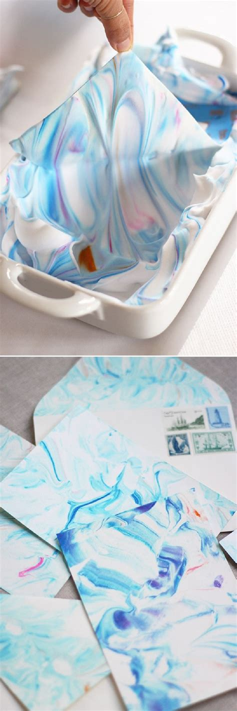 Make Marbled Paper - top 10 fantastic ways to make marbled paper