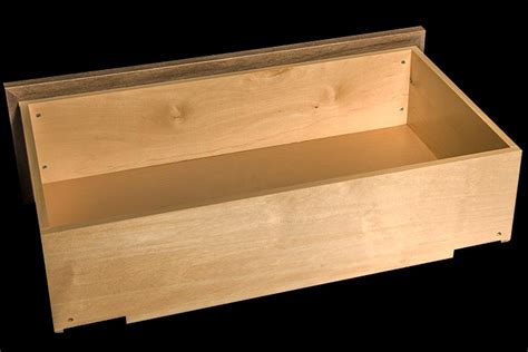 Wooden Box With Drawer by News Birch Drawer Boxes