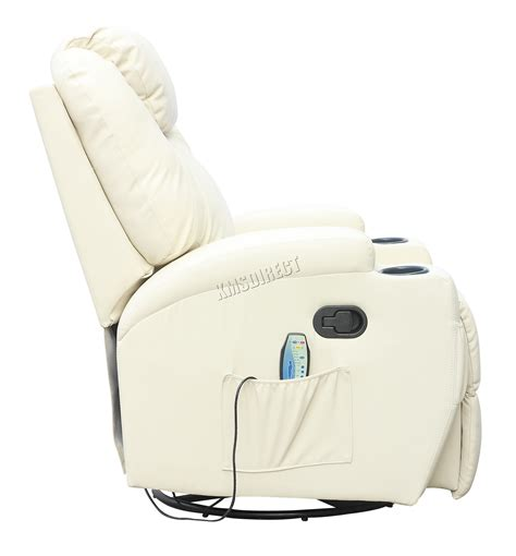 sofa with massage and heat foxhunter bonded leather massage recliner chair cinema