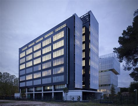 oficinas aena madrid sede aena pegaso city allende arquitectos madrid 2011