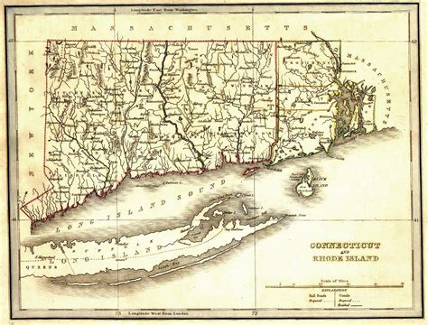 map of ri and ct the usgenweb archives digital map library connecticut