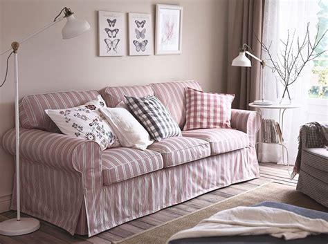 ektorp 3er sofa ein wohnzimmer mit ektorp 3er sofa mit bezug mobacka in