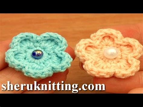 crochet flower pattern easy youtube easy crochet flower free pattern tutorial 81 flowers for
