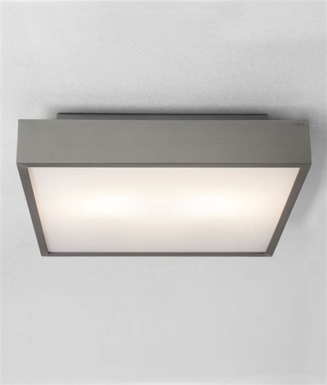 square bathroom light wall or ceiling mounted in halogen