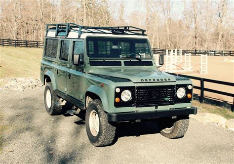 land rover defender 110 1985 land rover defender 110 for sale 1821135 hemmings