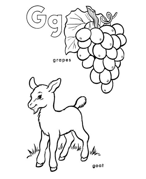 G Coloring Pages Print by Letter G Coloring Pages Az Coloring Pages